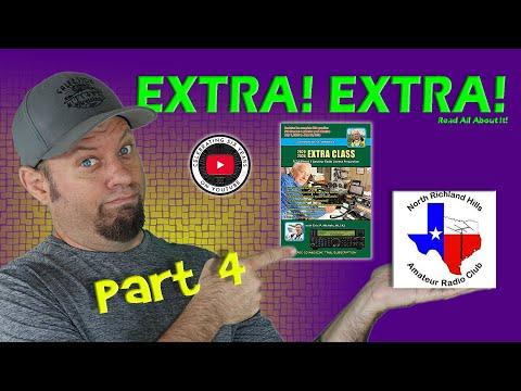 Ham Radio EXTRA Class License Course Part 4   Extra Class Study Guide