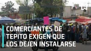 Comerciantes de Tepito desobedecen sana distancia contra el coronavirus - A las Tres