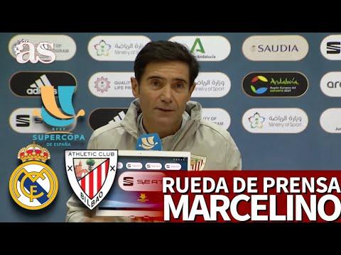 SUPERCOPA | REAL MADRID vs ATHLETIC | Rueda de prensa de MARCELINO | Diario AS