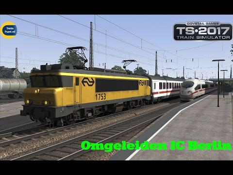 NS 1753 + Omgeleiden IC Berlin | De Betuweroute Beta 1 | Train Simulator 2017