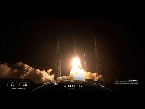 """سبايس اكس تطلق 60 قمرا اصطناعيا صغيرا ضمن كوكبة """"ستارلينك"""
