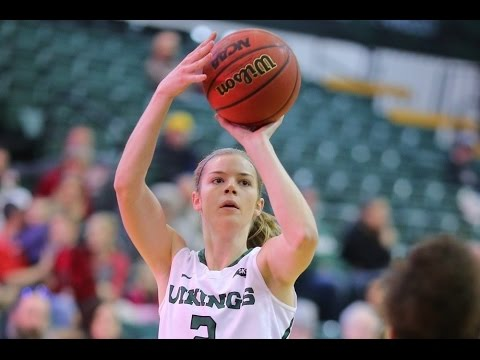 Portland State's Sidney Rielly - #BigSkyWBB Player of the Week