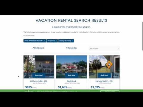 Save Properties To Your Vacation