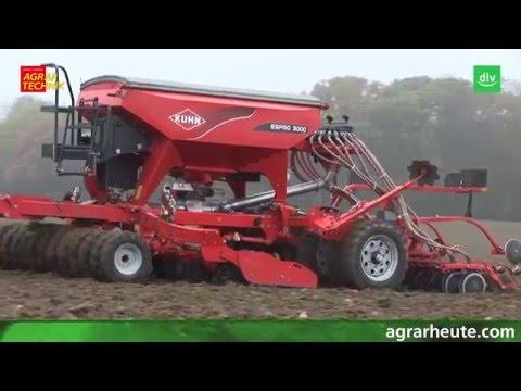 Kuhn Espro Drillmaschine im AGRARTECHNIK-Maschinentest