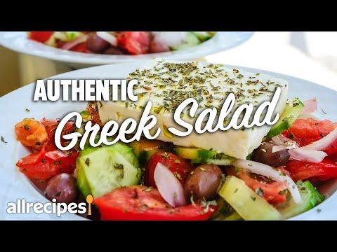 How to Make Authentic Greek Salad #WithMe   At Home Recipes   Allrecipes.com