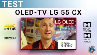 vidéo test LG 55CX par PP World