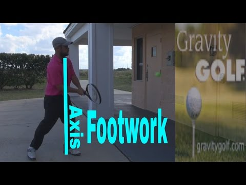 Proper footwork in the Golf Swing  |   How to learn good balance and footwork