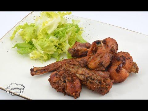 Como hacer conejo frito marinado con hierbas aromáticas