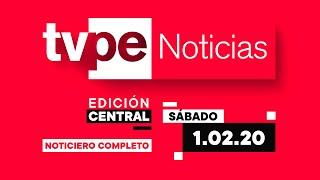 ¡Al aire! La edición central de TVPerú Noticias con Jennifer Cerecida