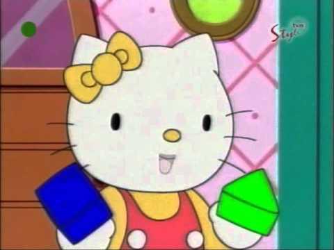 Hello Kitty - odcinek 12 B bajki - Niesamowite kształty PL