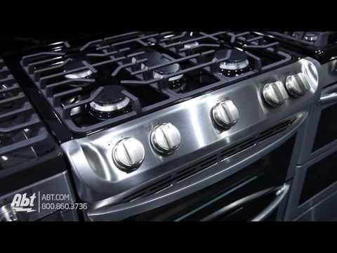 LG Double Oven Gas Range LDG4313ST Tour