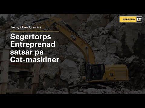 Tre nya Cat-grävmaskiner till Segertorps Entreprenad