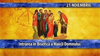 Sfintii zilei - 21 noiembrie