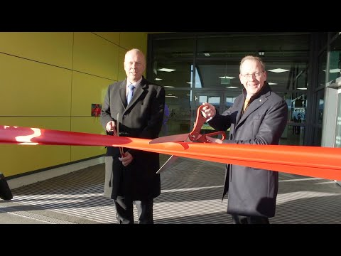 Official opening ceremony of London Luton Airport's new terminal