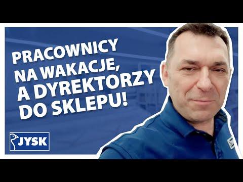 Pracownicy na wakacje, a dyrektorzy do sklepu! || JYSK Polska