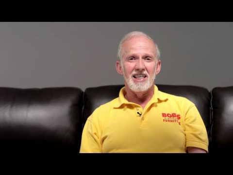 Carter Leather Sofa | Bob's Discount Furniture