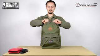 video - Batoh PENTAGON ARTEMIS - Military Range CZ/SK