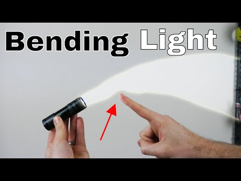 Is It Possible To Bend Light With Your Finger? The Light Bender Experiment