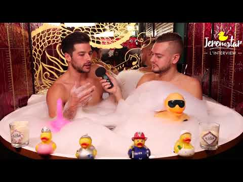 connectYoutube - Benjamin (Secret Story 11) dans le bain de Jeremstar - INTERVIEW