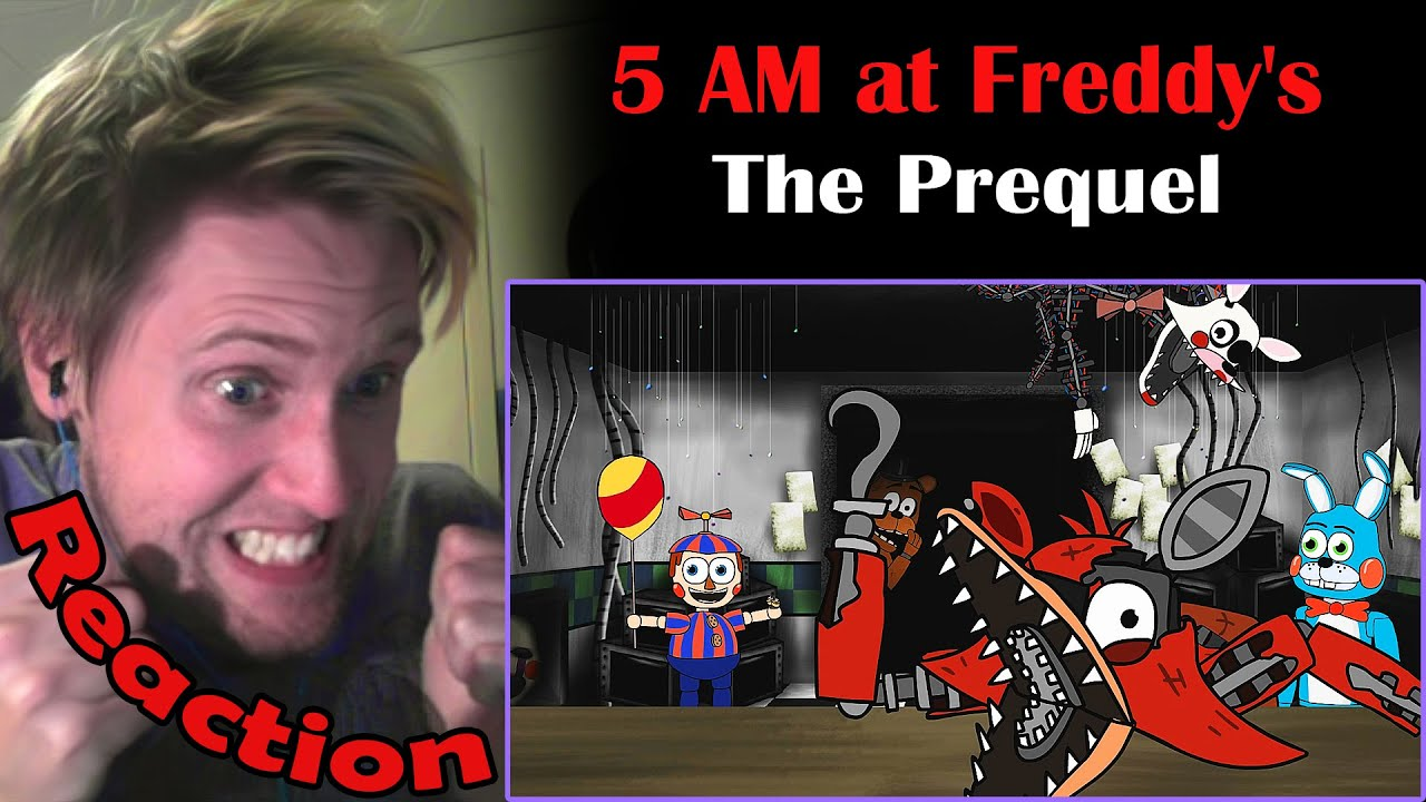 5 AM at Freddy's: The Prequel REACTION! | TWO FREDDY FAZBEARS! |