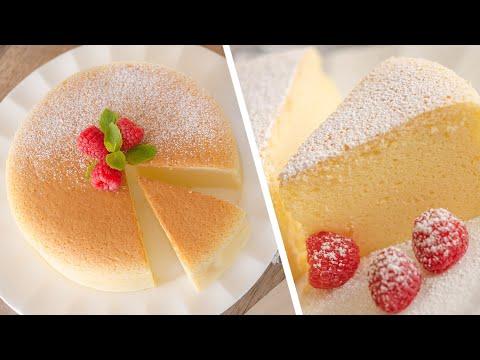 Японский Хлопковый ЧИЗКЕЙК 🍰 САМЫЙ ВКУСНЫЙ Сotton CheeseCake / простой рецепт ОЧУМИТЕЛЬНОГО десерта