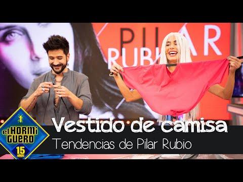 ¿Cómo crear un bolso con una camiseta? Pilar Rubio tiene la respuesta – El Hormiguero