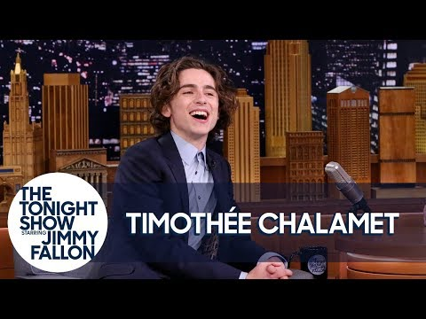 Timothée Chalamet Broke His Only Rule for The Tonight Show