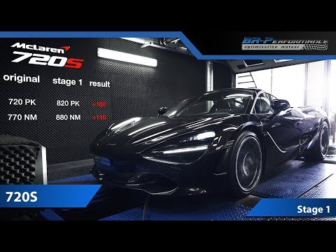 REMAP Mclaren 720S Stage 1 By BR-Performance 😈
