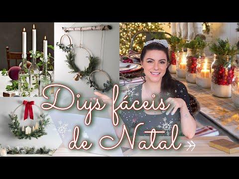 5 Ideias DIYs incríveis e fáceis de Fazer pro Natal!