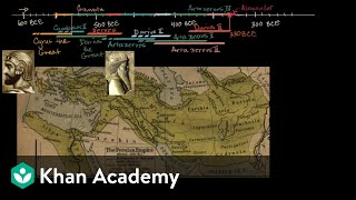 Cyrus the Great establishes the Achaemenid Empire