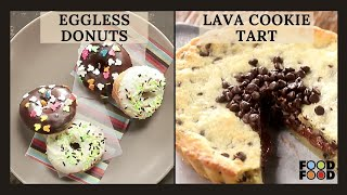 Eggless Donuts backslashu0026 Lava Cookie Tart | FoodFood - FOODFOODINDIA