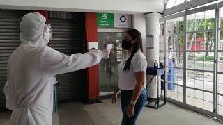 Terminal de transporte de Barranquilla trabaja en protocolos de Bioseguridad