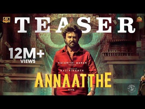 Annaatthe   Official Teaser   Rajinikanth   Sun Pictures   Siva  Nayanthara
