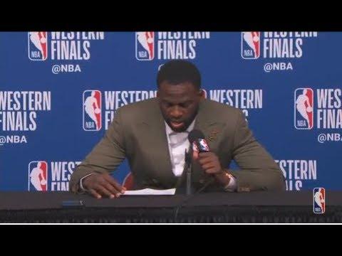 Draymond Green Postgame Interview   Warriors vs Rockets Game 5