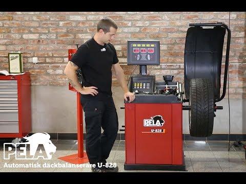 Automatisk däckbalanserare U-828