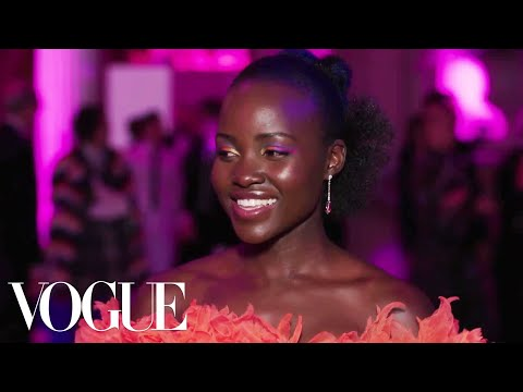 Lupita Nyong'o on When Sexy Takes the Front Row | Vogue