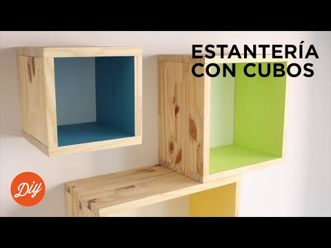 IDEA DIY: Crea una estantería con cubos con BLACK+DECKER™