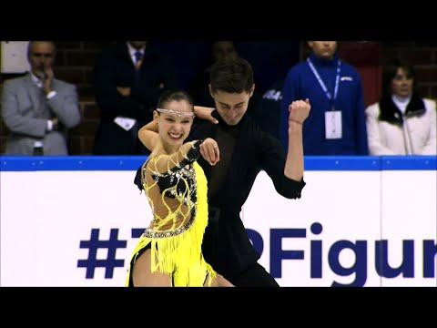 Екатерина Каташинская - Александр Васькович. Произвольный танец. Baltic Cup