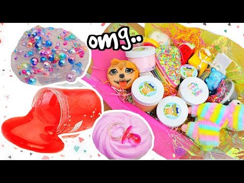 connectYoutube - UNKNOWN SLIME SHOPS REVIEW! 100% Honest Review! Cutest Slime Package EVER