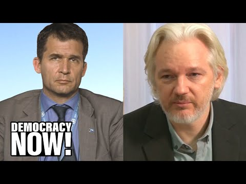 """U.N. Special Rapporteur Calls for Julian Assange to Be Freed, Citing """"Psychological Torture"""""""