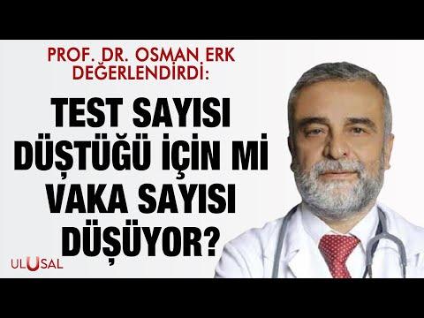 Prof. Dr. Osman Erk değerlendirdi: Test sayısı düştüğü için mi vaka sayısı düşüyor?