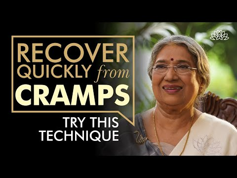 What to do at the time of Cramp?   Dr. Hansaji Yogendra