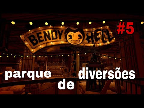 Parque de TRISTEZA!   Bendy and the ink Machine   BiGames.