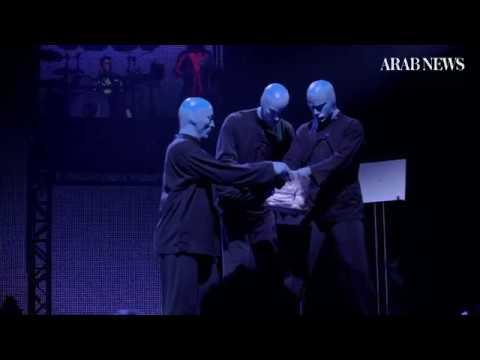 Blue Man Group wows Jeddah fans