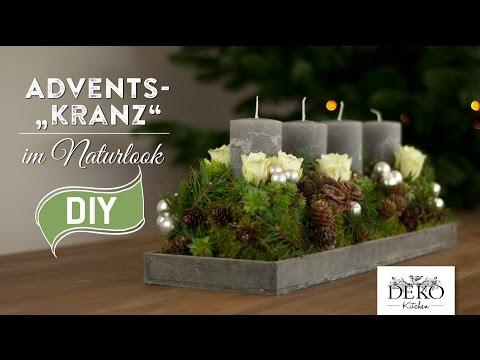 Download youtube to mp3 adventskranz selbst basteln for Youtube weihnachtsdeko