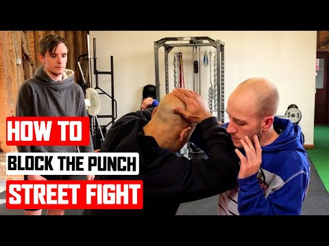 How to block punch in a Street Fight ✅