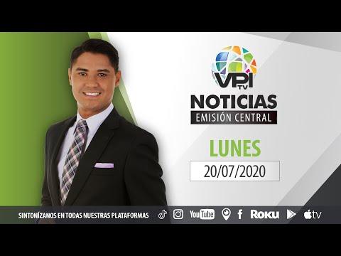 EN VIVO - Noticias VPItv Emisión Central - Lunes 20 de Julio