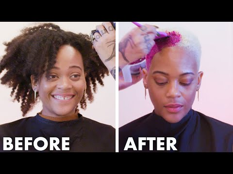 Getting My Head Shaved For the First Time (The Big Chop) | I've Never Tried | Allure