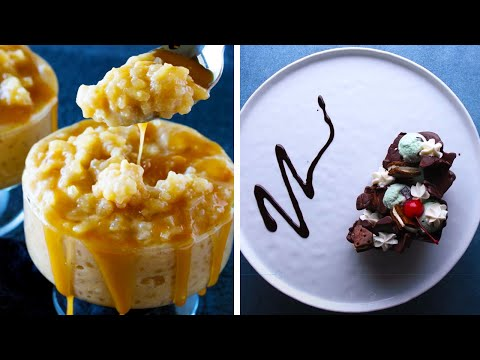 How to Make Caramel and Chocolate Desserts! | Easy Dessert Recipes by So Yummy