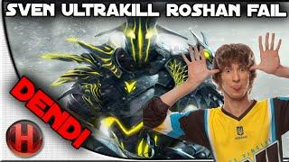 Na'Vi.Dendi Ultra Kill Roshan Fail The Summit Dota 2
